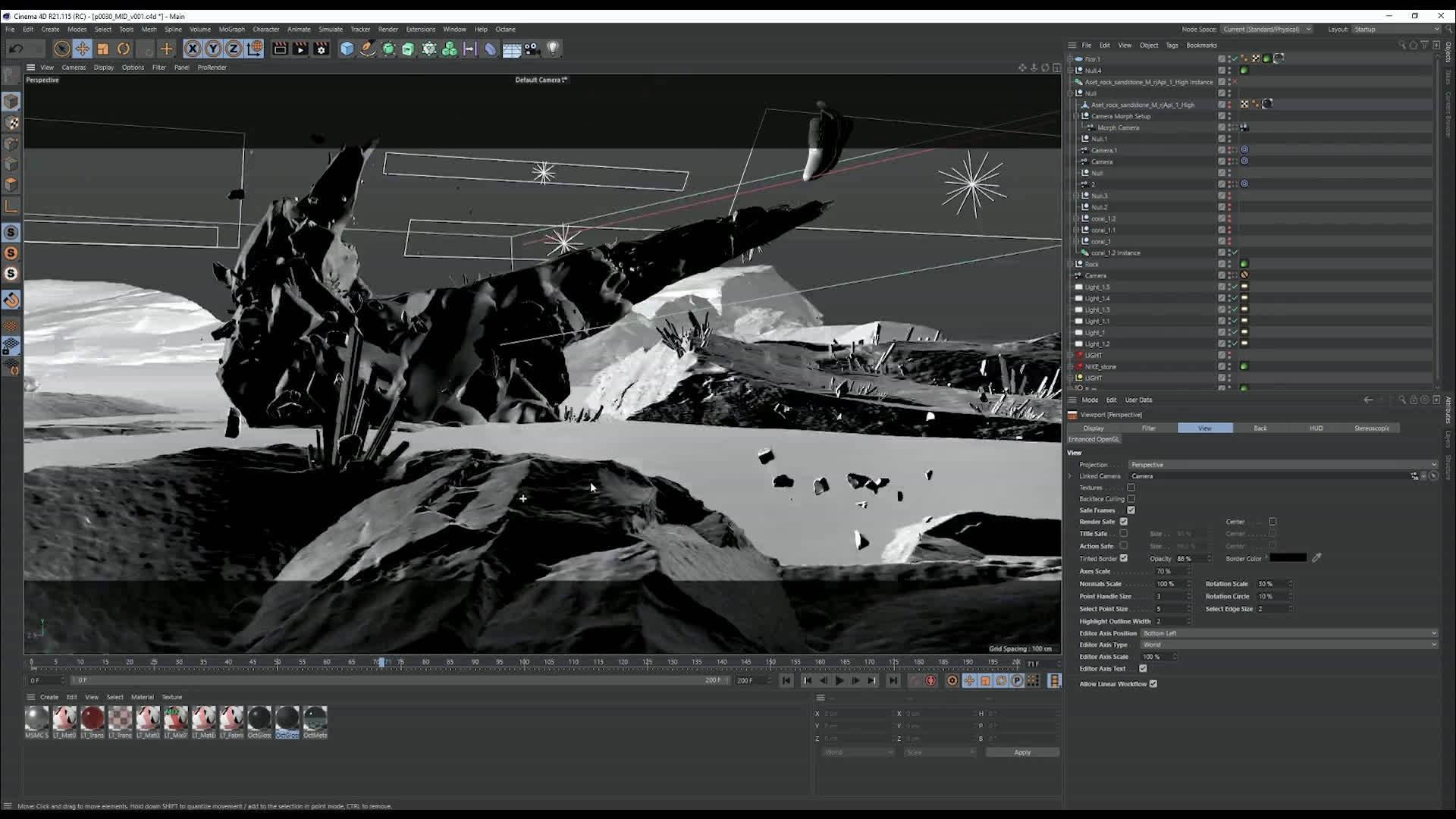 Mondlicht Studio给Nike Air Max制作的两条宣传片和幕后花絮