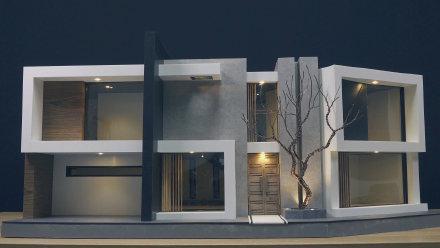 小伙技术了得,手工建造一栋别墅模型,还装修了一下,让人羡慕