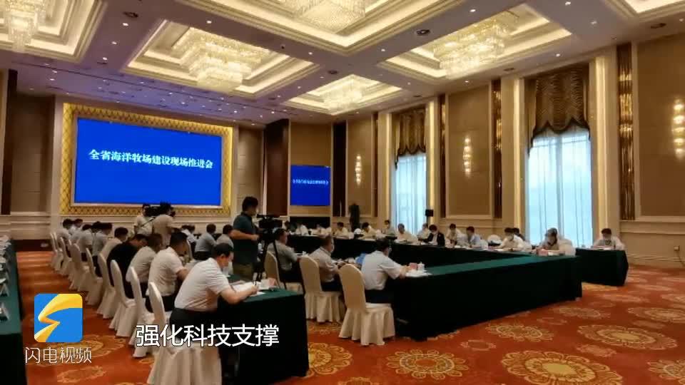 """海洋牧场建设看山东 烟台:融入5G技术 打造""""海上粮仓+蓝色能源""""新模式"""