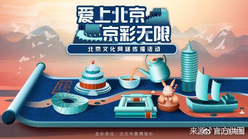 """覆盖短视频、音乐、网络游戏 2020年""""京·彩""""北京文化网络传播活"""