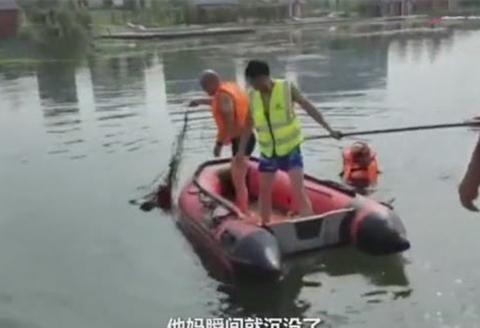 河南发生一起溺水事件,母亲为救落水儿子溺亡,获救儿子岸边痛哭