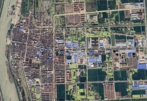 扬州高邮市一个镇,和宝应县接壤,拥有江苏最大天然芦苇荡