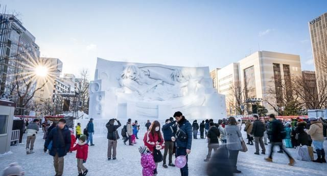 日本旅游战略11张视觉盛宴的图片让您领略北海道札幌冰雪节