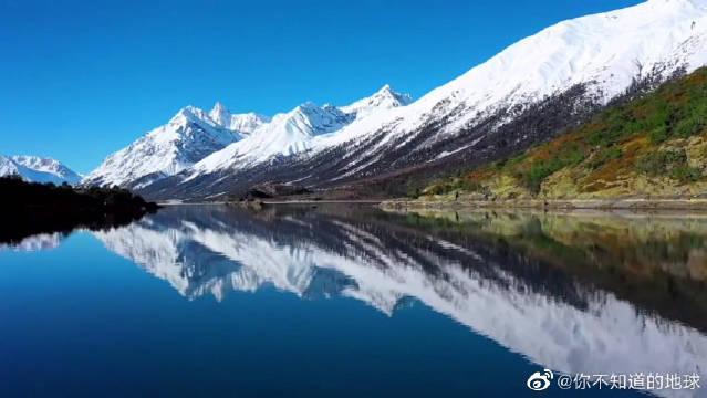 美景欣赏:西藏有多纯净,看看然乌湖雪山的美景就知道