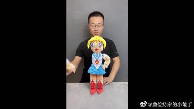 用折纸做的美少女战士你见过吗?