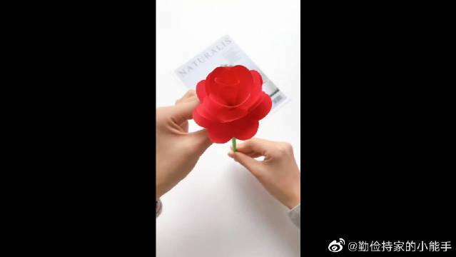 教你做好看的玫瑰花,制作过程简单,赶紧来学吧!