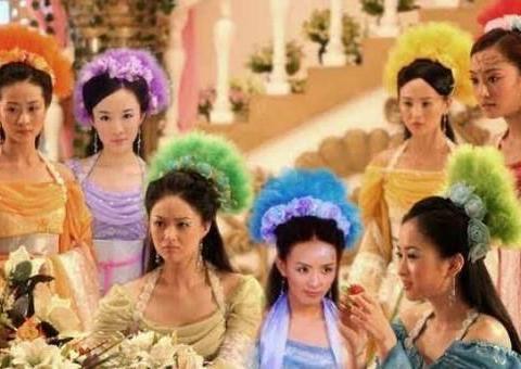 七仙女坠入爱河的故事,童年的回忆,经典的那是很难再拥有的