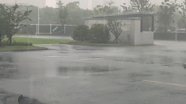我就出门了五分钟 遇到这么大的暴雨 最近水逆 不易出门