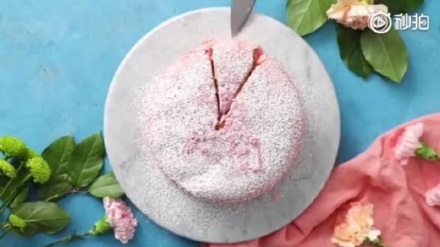 樱花奶酪蛋糕