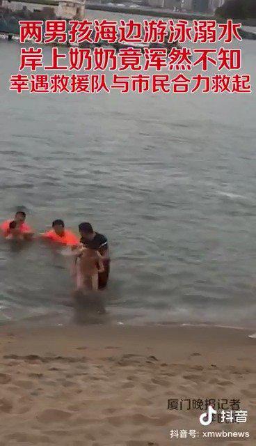 海边救溺水儿童的热心人找到了!
