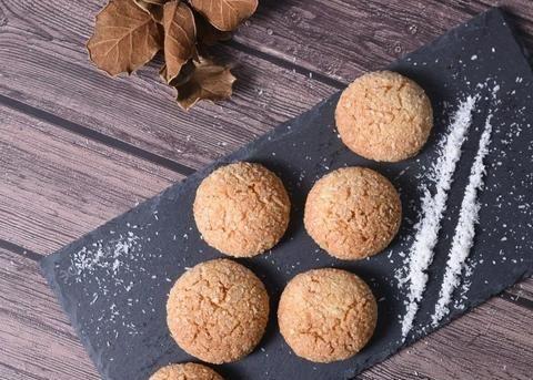 烘焙小吃系列,大叔教你椰蓉酥,酥脆可口,香甜味美,非常解馋!