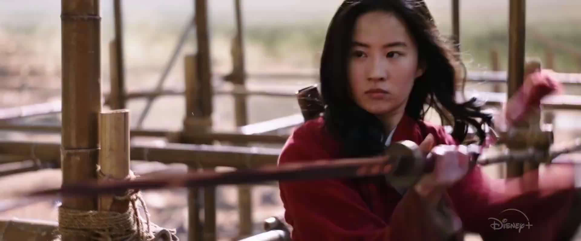 刘亦菲主演的《花木兰》发布新预告……