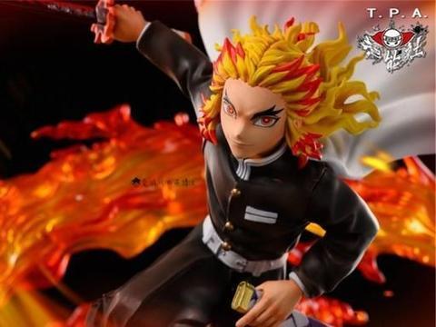 邪神Saber上身?日本网友分享了一款崩坏的《鬼灭之刃》炎柱模型