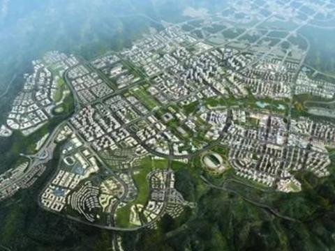 中国最为逆天的工程,削平33座大山,建设全球最大的山区城市