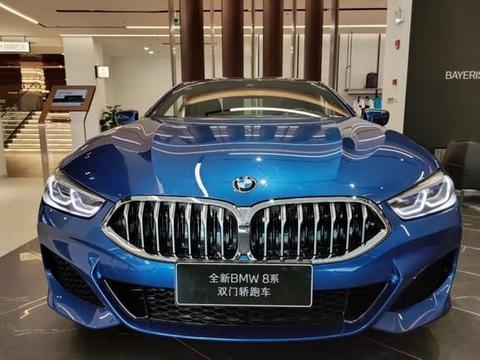 实拍宝马8系Coupe,百万级双门轿跑车,称得上BMW家族旗舰吗