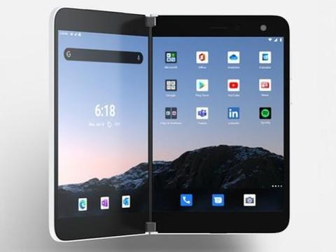 微软可折叠双屏手机Surface Duo已开始预购,将于9月10日上市