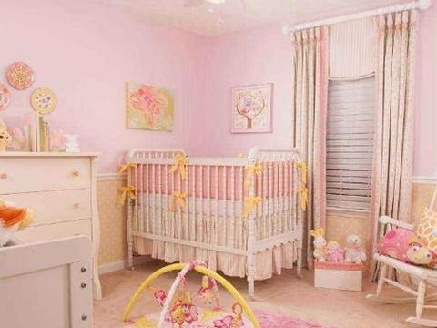 婴儿房选什么颜色好?这样搭配对发育好
