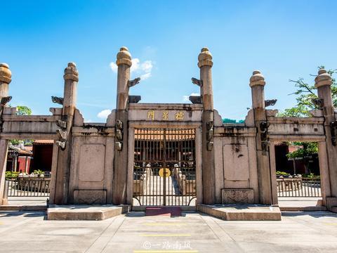 广东揭阳有一座岭南最大的县级孔庙建筑,规模仅次于曲阜孔庙