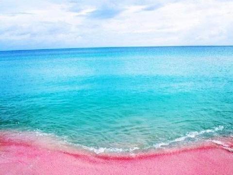 世界上最梦幻的粉色沙滩,简直就是情侣必去的浪漫圣地!