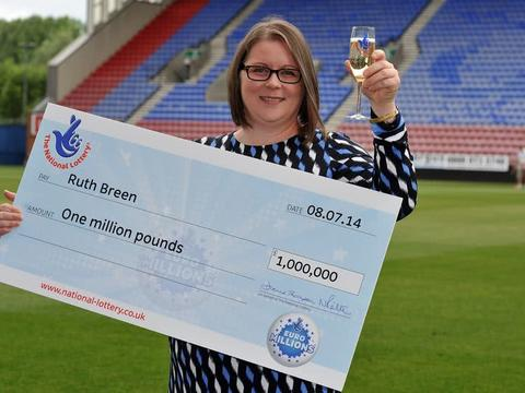 女护士中858万大奖仍继续买彩票,称这钱不够花得再中一次