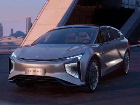 全球首款可进化超跑电动SUV 高合HiPhi X