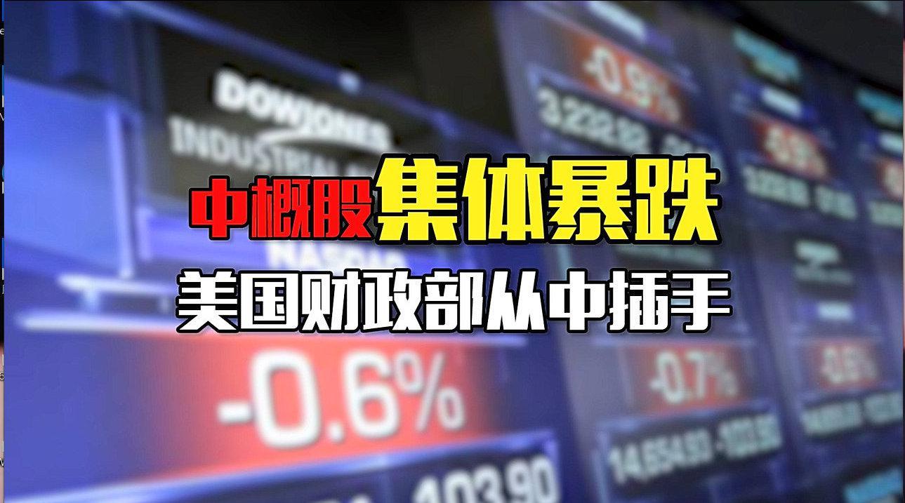 了解要求后,中概股配合美方审查,但股价集体暴跌