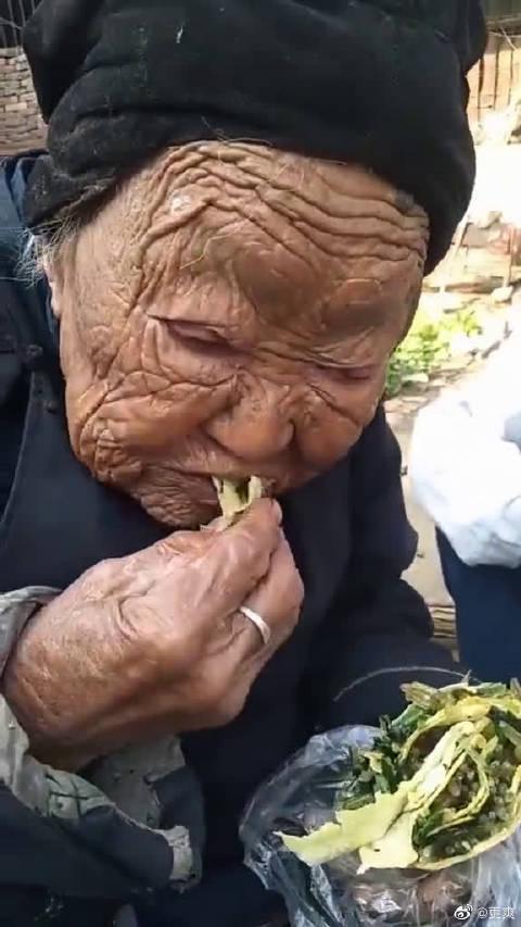 百岁老人,点赞长寿祝福