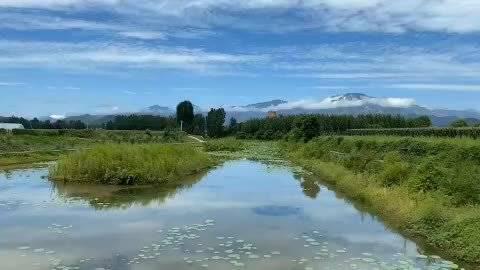 大雨洗礼后的密云乡村(梁晴摄于溪翁庄镇金叵罗村)