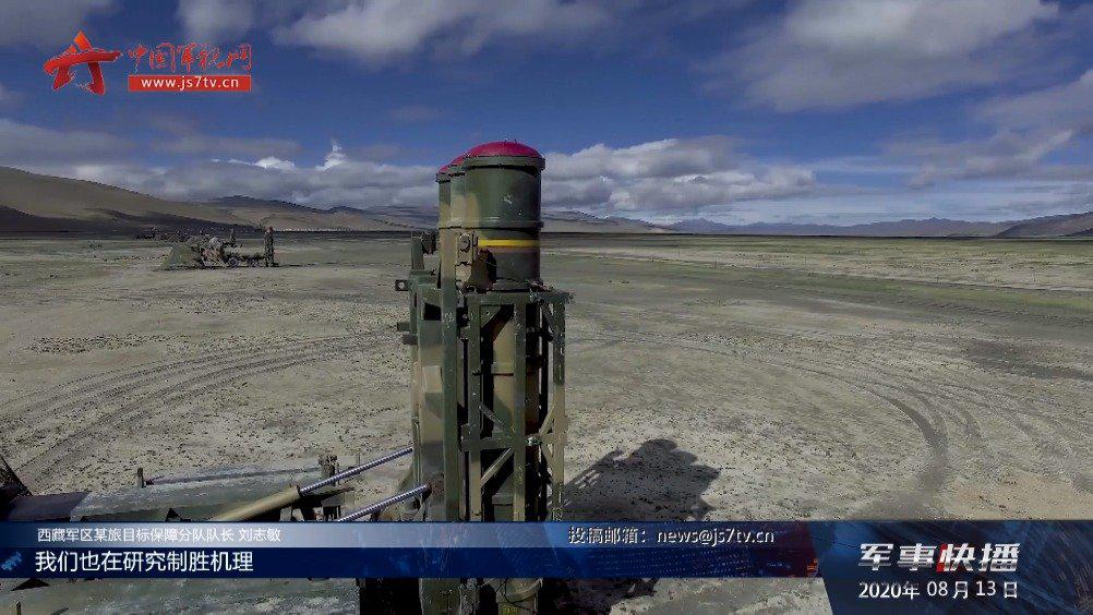 导弹发射!西藏军区某旅在海拔5000米展开防空演练