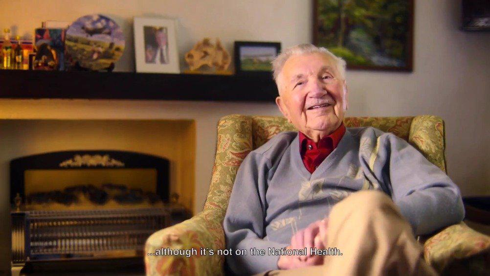 3位英国百岁老人分享了自己的人生哲学