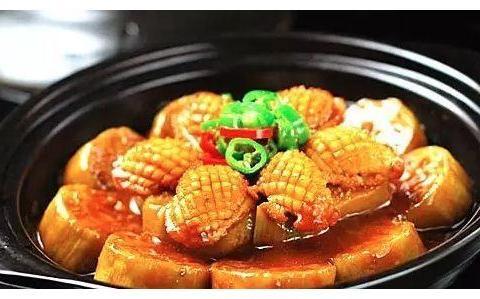 精选清江鱼茄子煲、冬菜茄子炆鲜鲍、素烧什锦茄丁、锅塌茄盒做法