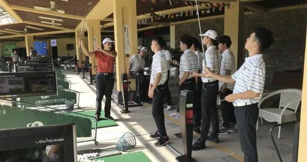 台青刘宗鑫即将推出福建首个线上高尔夫教学课程