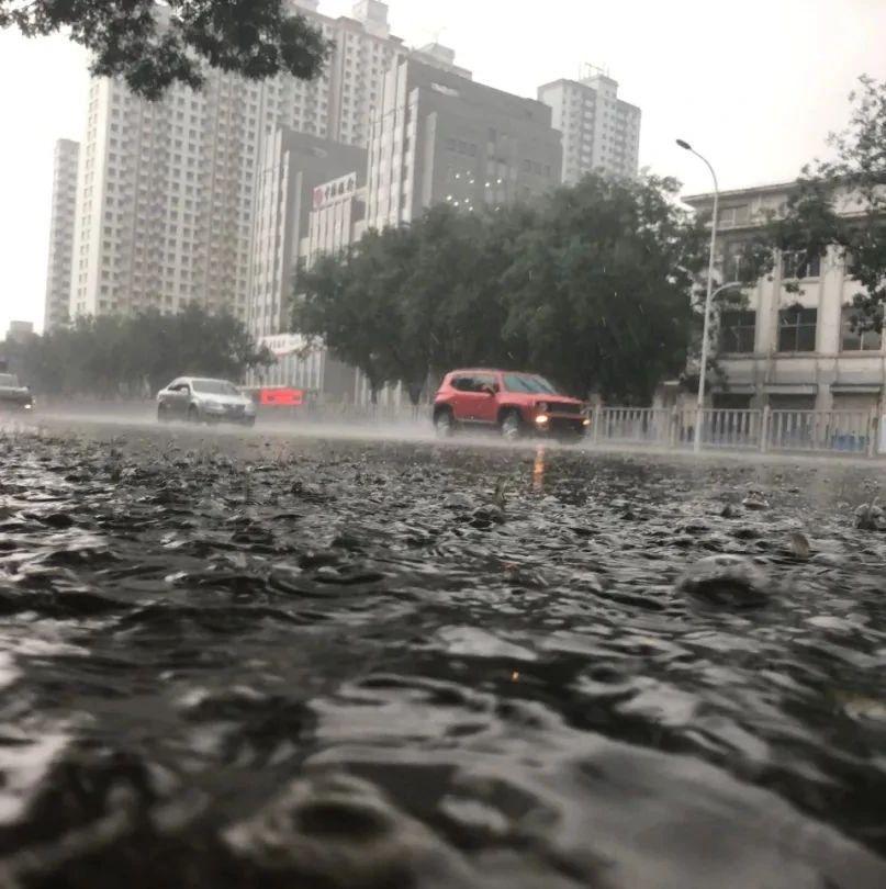 瓢泼大雨说下就下!多个收费站封闭!淄博发布暴雨黄色预警!