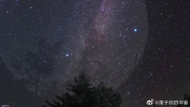 超美的星空,流星、极光等,尽收眼底!