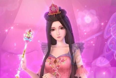 叶罗丽:6个仙子同时秀法杖,罗丽可爱孔雀臭美,而她毫无存在感