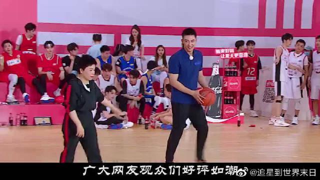 邓亚萍和黄景瑜对决 三次投篮过后 黄景瑜竟然被绝杀了?