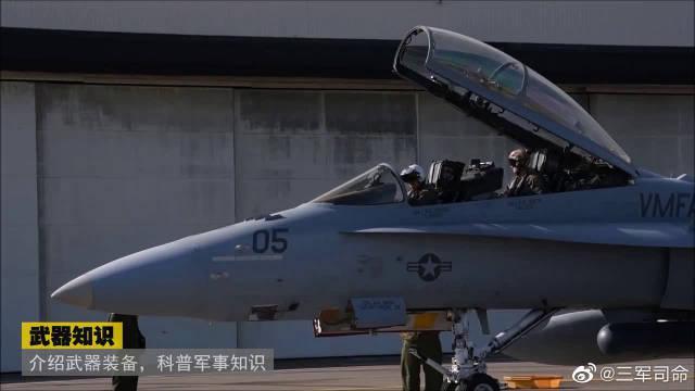 """隶属海军陆战队全天候攻击中队的""""大黄蜂""""准备起飞"""