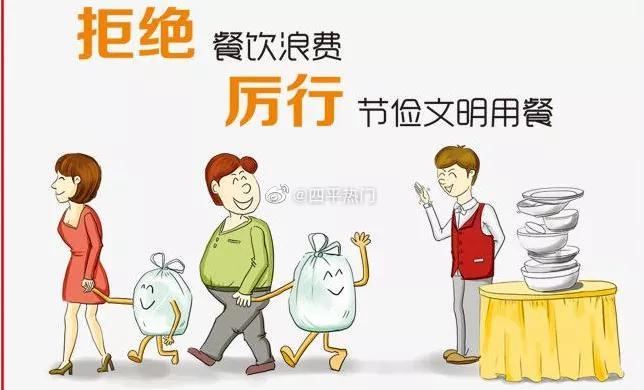 """四平市市场监督管理局""""提倡节约消费、抵制餐饮浪费""""倡议书"""