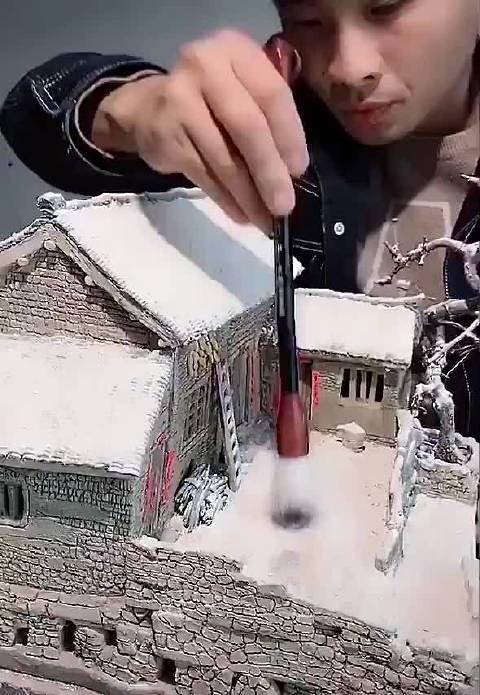 还原老房子,这种中国传统的老房子现在很难见到了