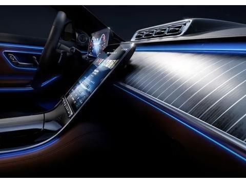 全新奔驰S级官图出炉!内饰够奢华,座椅带空调和气囊