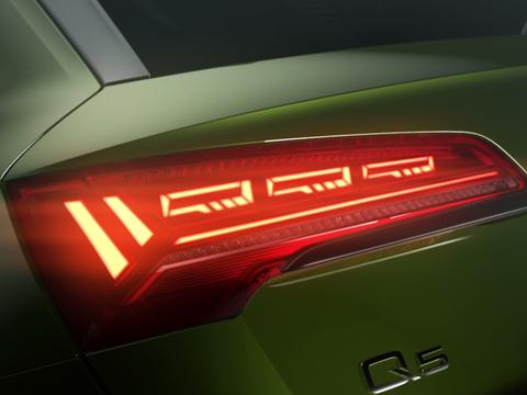 """""""灯厂""""新技术!全新奥迪Q5将采用最新一代OLED灯光照明技术"""