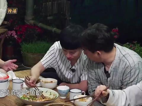 向往2:黄磊的鱼太好吃,让张杰吃迷糊了,狂飚四川话!