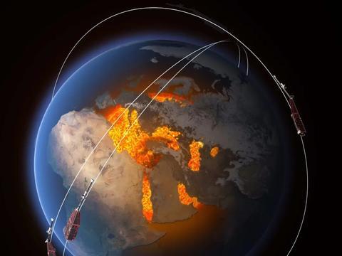 欧空局最新发布:南大西洋磁场异常,全球平均磁场强度下降了9%!
