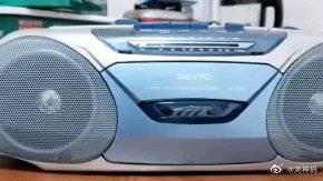 精美的收录机!磁带播放器!