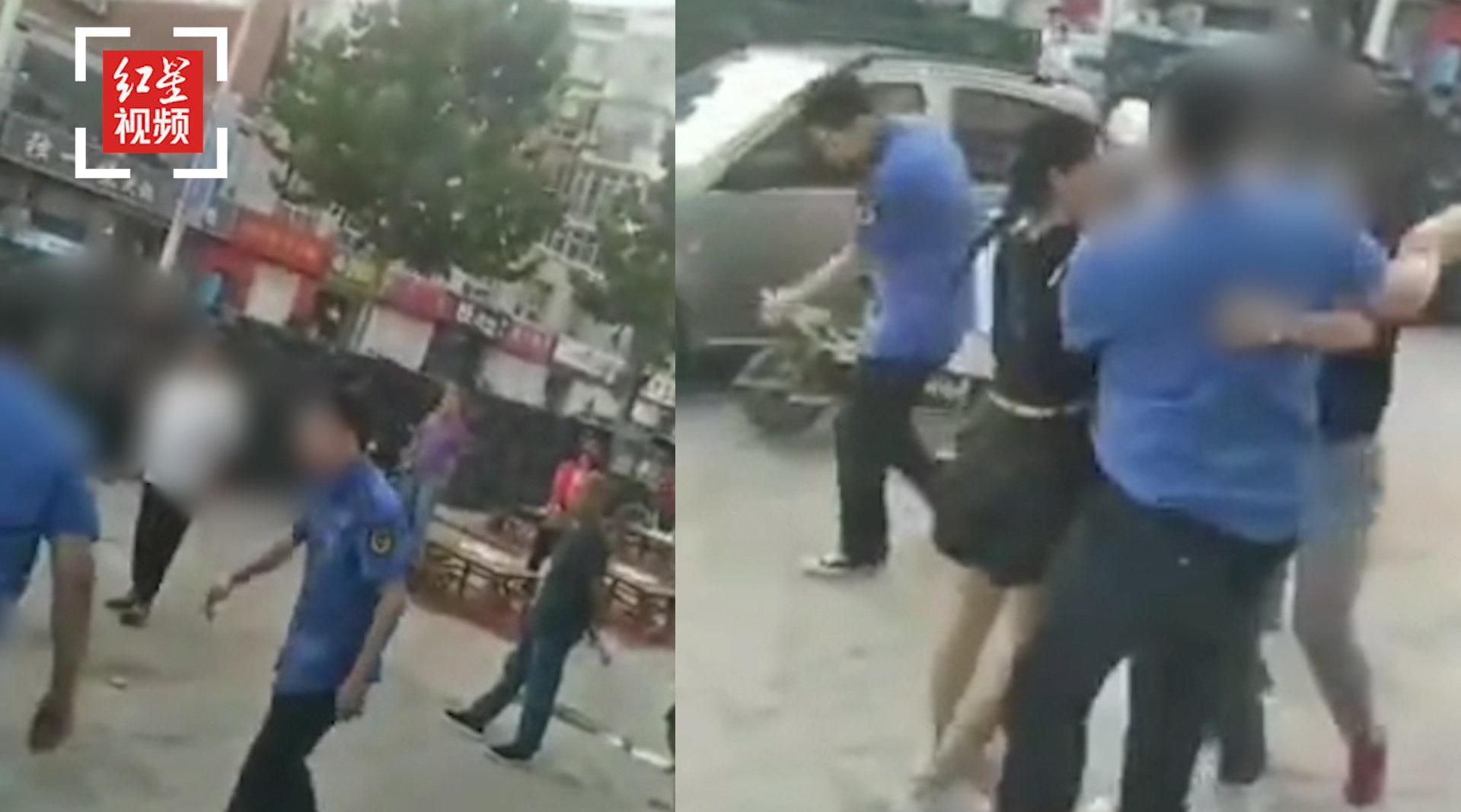 官方回应河北邢台城管殴打小商贩:涉事人员已被停职调查