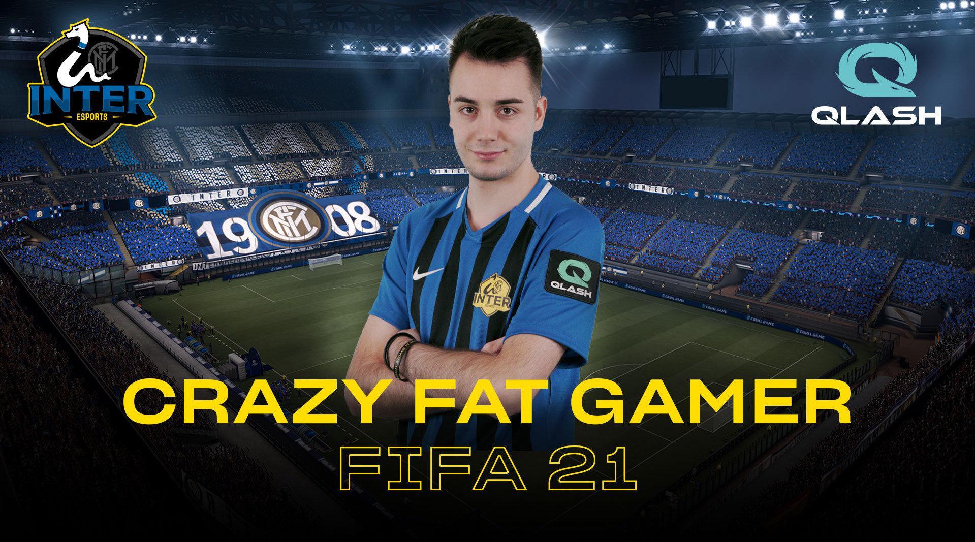 """欢迎迭戈 """"Crazy Fat Gamer"""" 👋 @EA_SPORTS FIFA世界排名第一的"""