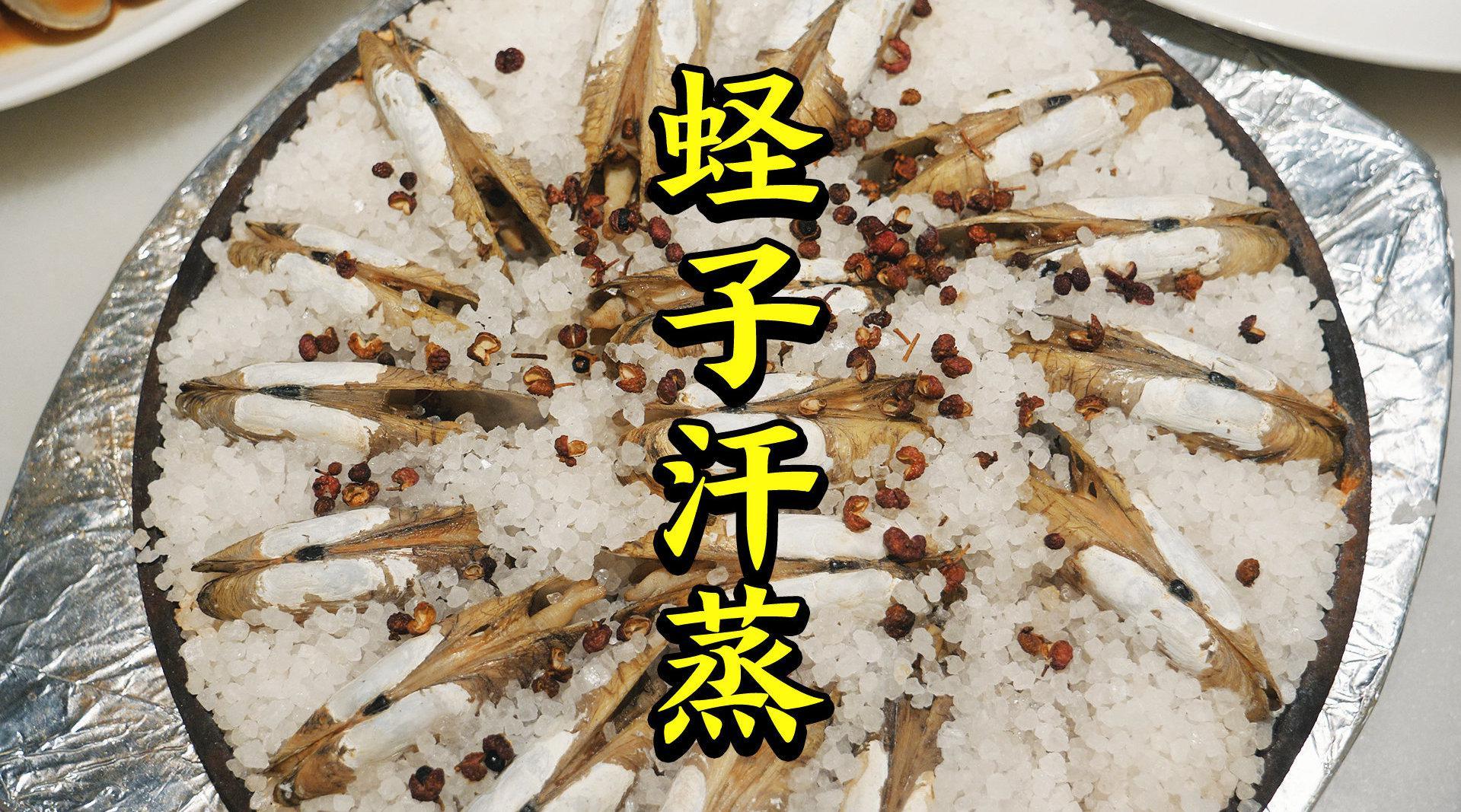 3公斤盐下去,蛏子:我裂开了! 北京人气最旺温州大排档,走……