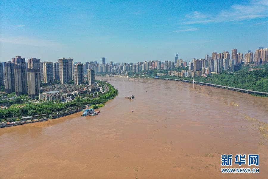 长江2020年第4号洪水14日在上游形成。受上游来水影响……