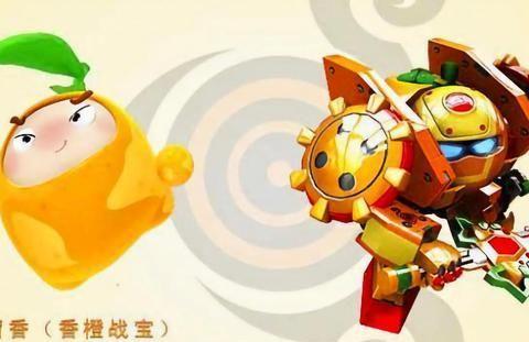 果宝特攻:历代香橙战宝,你最喜欢哪部的?