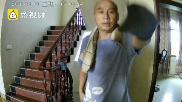 江西入室杀人案受害者家属讲诉案发经过监控拍下嫌犯曾春亮入室画
